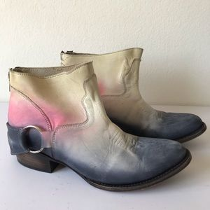 Freebird Steven Cali Ombre Ankle Boots
